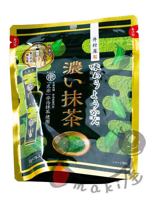 井村屋 濃い抹茶ようかん 108g