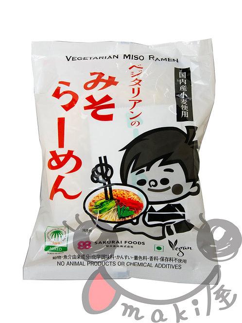 創健社 ベジ味噌ラーメン 98g
