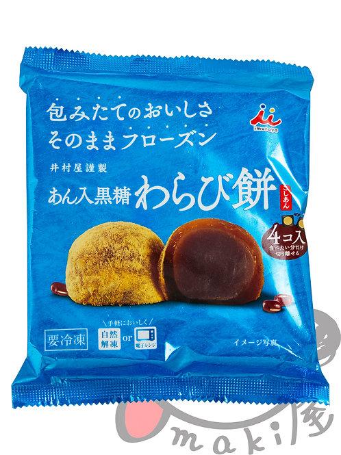 井村屋 あん入黒糖わらび餅 184g