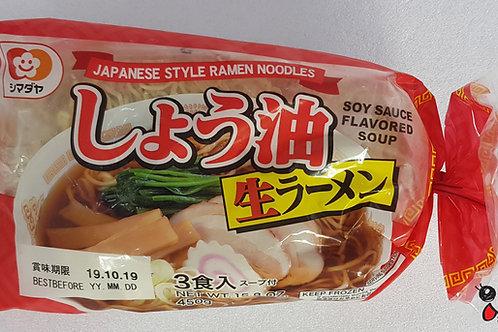 シマダヤ3食ラーメン醬油 450g