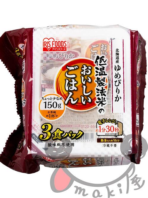北海道ゆめぴりか(パックご飯)150g×3