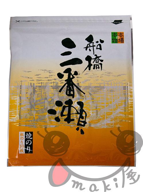 船橋三番瀬海苔(板海苔)40g