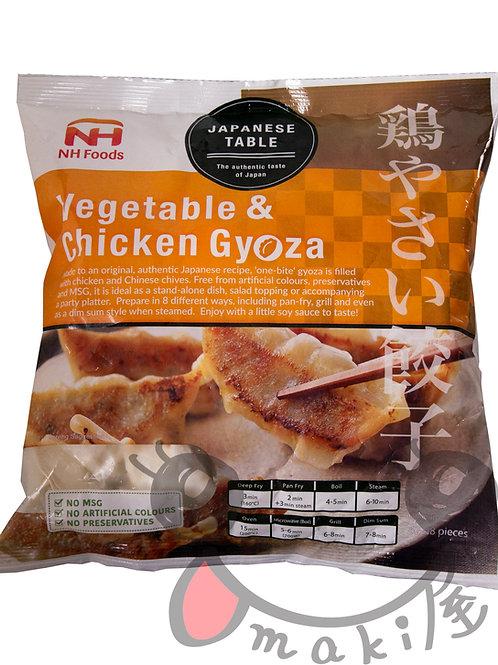 野菜チキン餃子 (NH Foods) 600g
