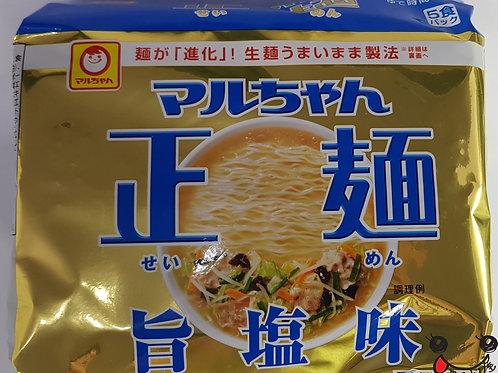 マルちゃん正麺 塩 105g×5