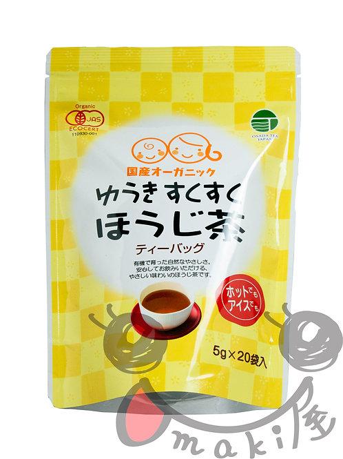 ゆうきすくすくほうじ茶(ティーパック) 100g