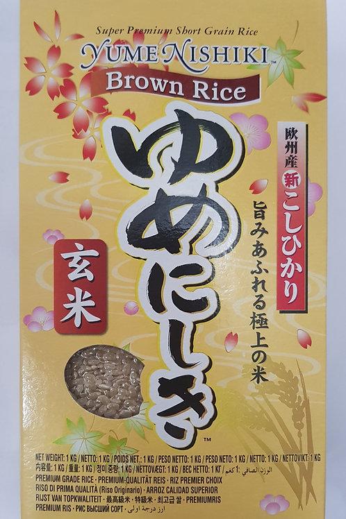 ゆめにしき(玄米)1kg