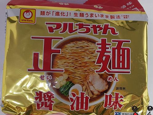 マルちゃん正麺 醬油 91g×5