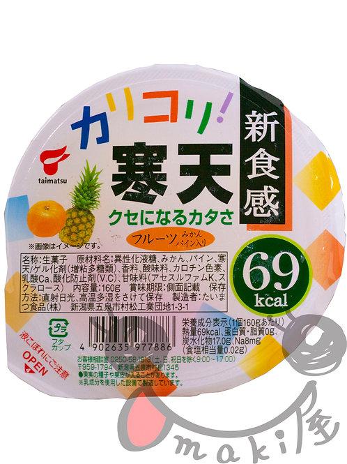 カリコリ寒天 フルーツ 160g