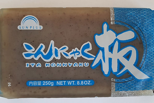 こんにゃく 黒 250g(カタオカor サンプラス)