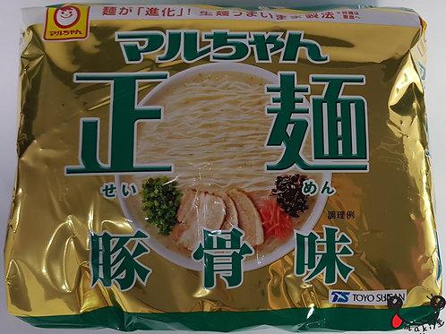 マルちゃん正麺 豚骨 105g×5