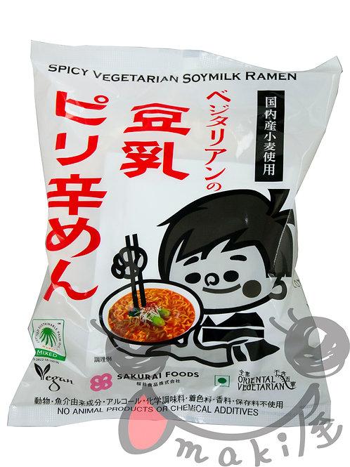 創健社 豆乳ピリ辛ラーメン 138g