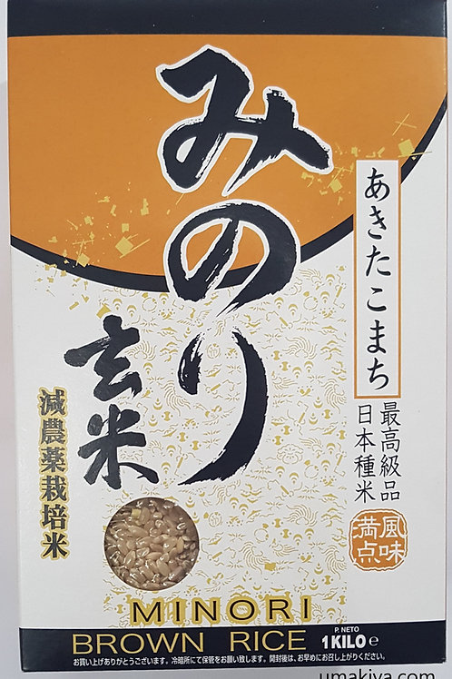 みのり(玄米)1kg