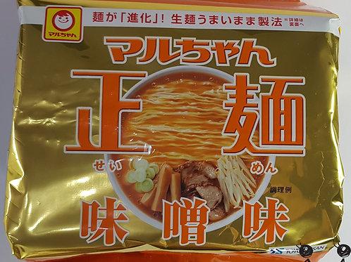 マルちゃん正麺 みそ 104g×5