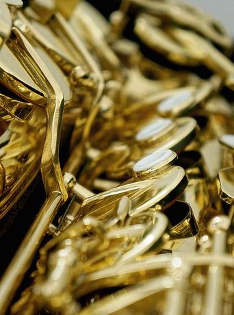 veel saxofoons