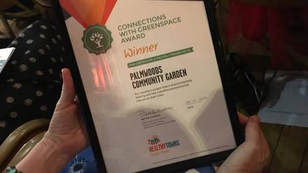 We Won A Healthy Towns Award!