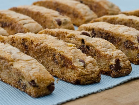 RECIPE: Delicious Nutritious Mandelbread (Biscotti)