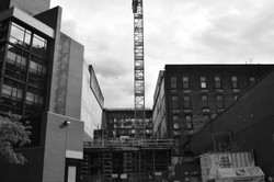 Construction works - Gastown