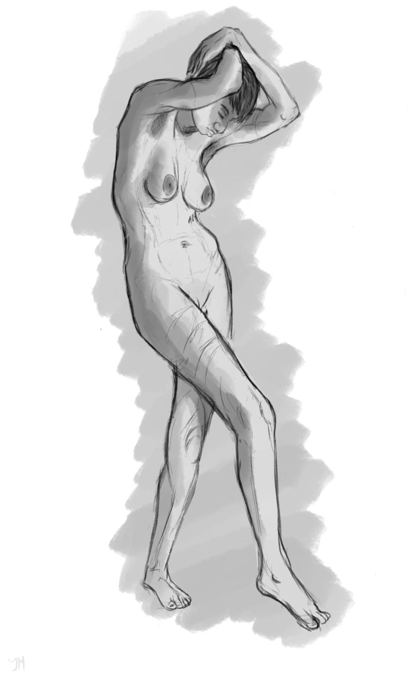 Life sketching