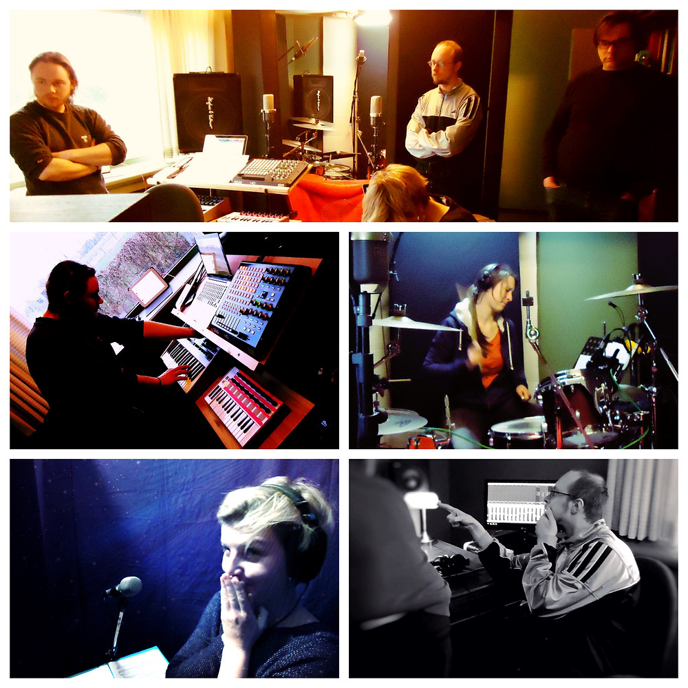 Cro§in'X in the studio
