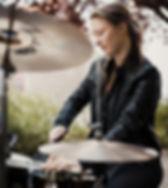 Annebelle Dewitte Zsa Zsu Zsu drums