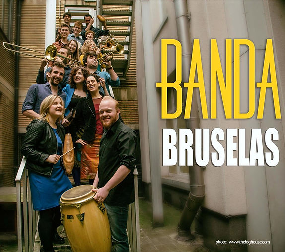 Annebelle Dewitte drums timbalera Banda Bruselas