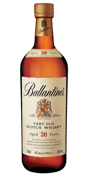 Whisky Ballantine's 750ml - 30 Anos