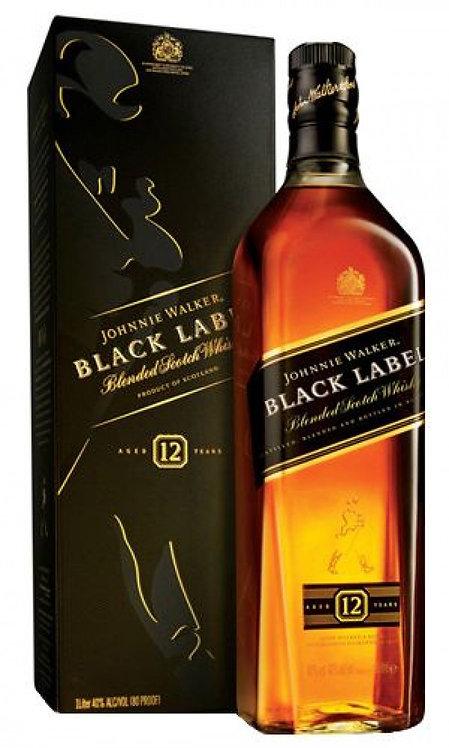 Whisky Johnnie Walker Black 1lt