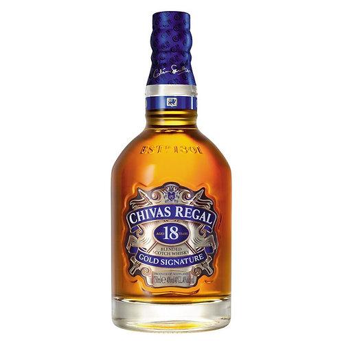 Whisky Chivas Regal 750ml - 18 Anos
