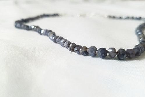 Mystic Iolite Necklace