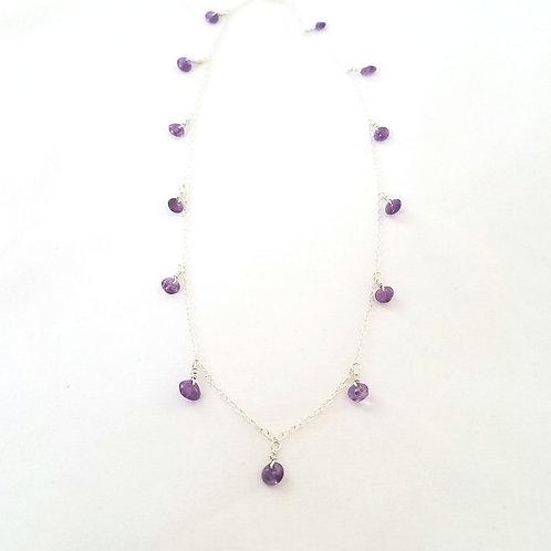 Amethyst Gypsy Necklace