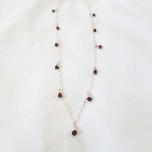 Rohdinite Gypsy Necklace