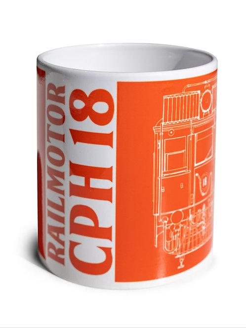 Railmotor CPH 18 Mug
