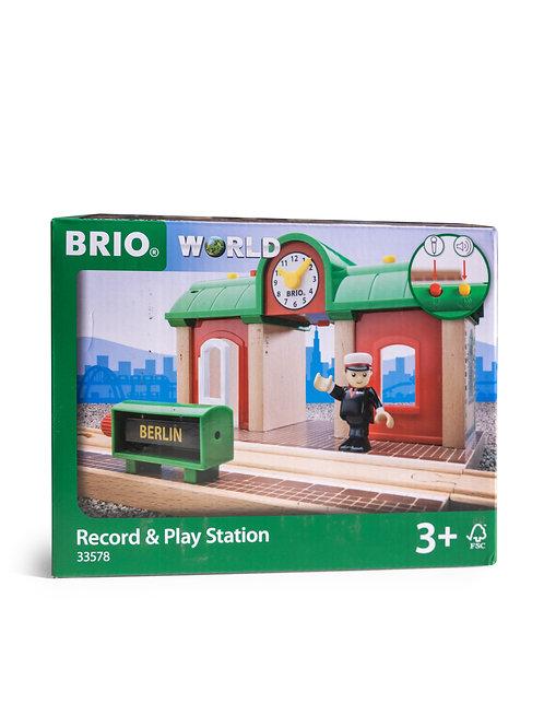 BRIO Record& Play Station