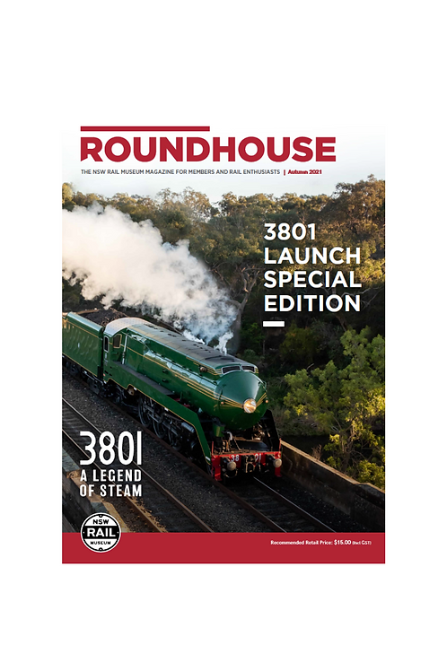 Roundhouse Magazine: Autumn 2021 (3801 Special Edition)
