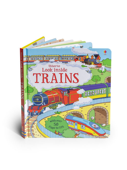 Book: Look Inside Trains