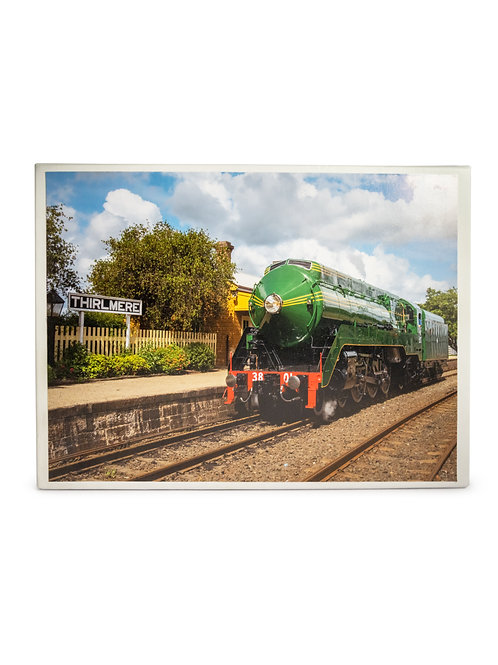 3801 at Thirlmere Station - 1000 piece puzzle