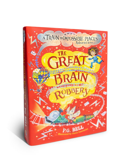 Kids Book: A Train to Impossible Places - The Great Brain Robbery