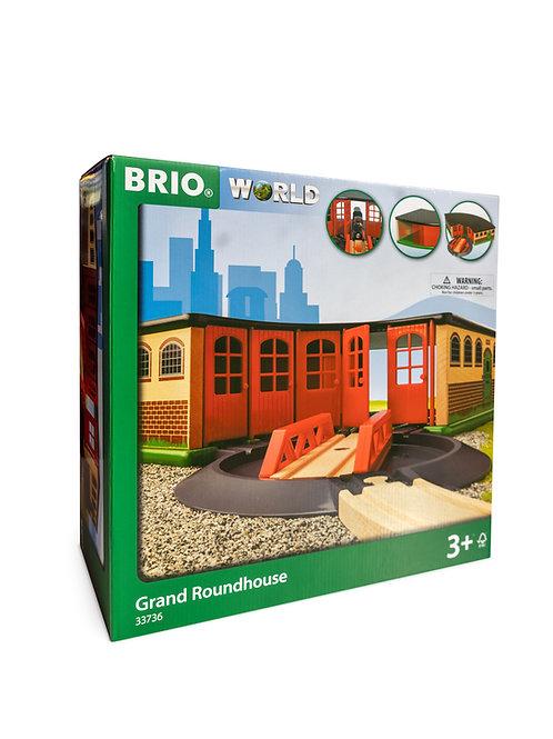 BRIO Destination - Grand Roundhouse, 3 pieces