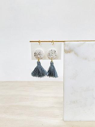 Anemone Tassel Earring