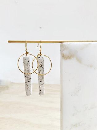 Anemone Linear Earring
