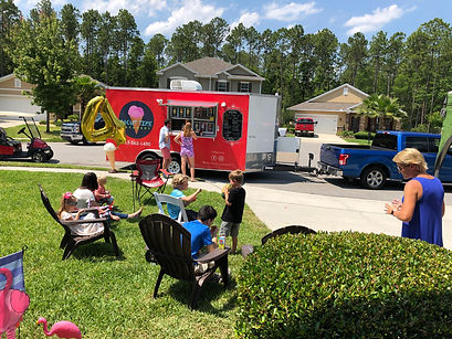 food truck, ice cream gourmet, homemade ice cream
