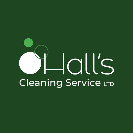Hall's Cleaning Service LTD - Final Logo