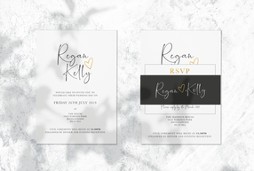 Wedding Stationary - Kelly Range