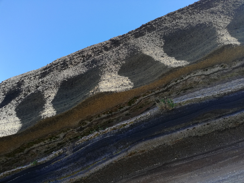 Formaciones geologicas que nacieron de las entrañas del Teide