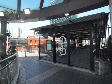 TfNSW Bike Shed - Parramatta Train Station