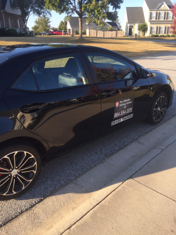 ultimate driving school easley sc