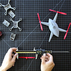 Camp activities during Spring Break Drone Design STEM programs for local kids and Pittsburgh area children