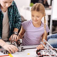 Kids Spring Camp ROBOTICS activities by local Pittsburgh children