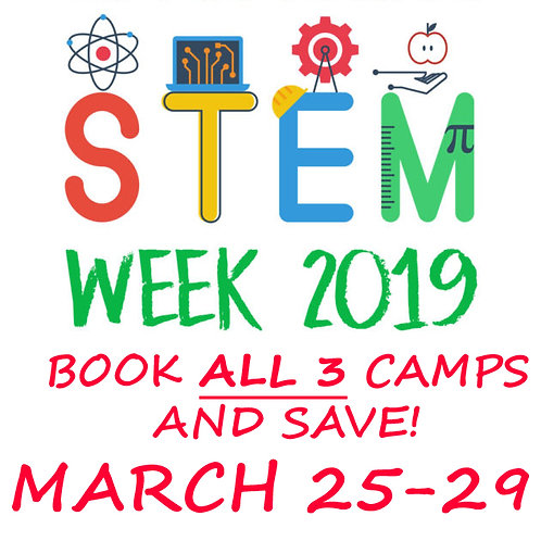 Pittsburgh Spring Break Camp Discount Reduced Fee Coupon Promo Kids STEM Program Science Activities Local Boys Girls