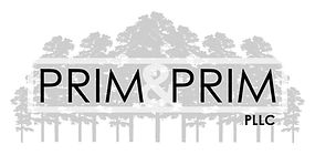 PRIM & PRIM, PLLC LOGO WITH TREES IMAGE LINK TO HOME PAGE